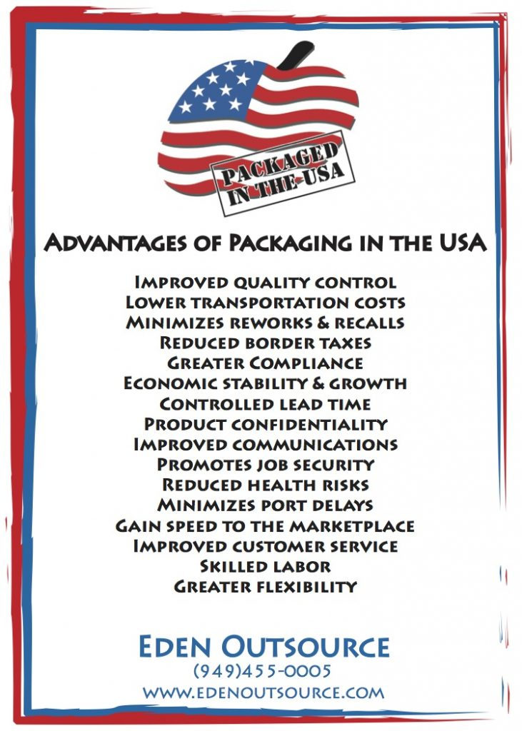 Home Of The Free and The Brave: Keeping Production Local For A Stronger USA